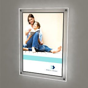 wall mounted LED light pockets